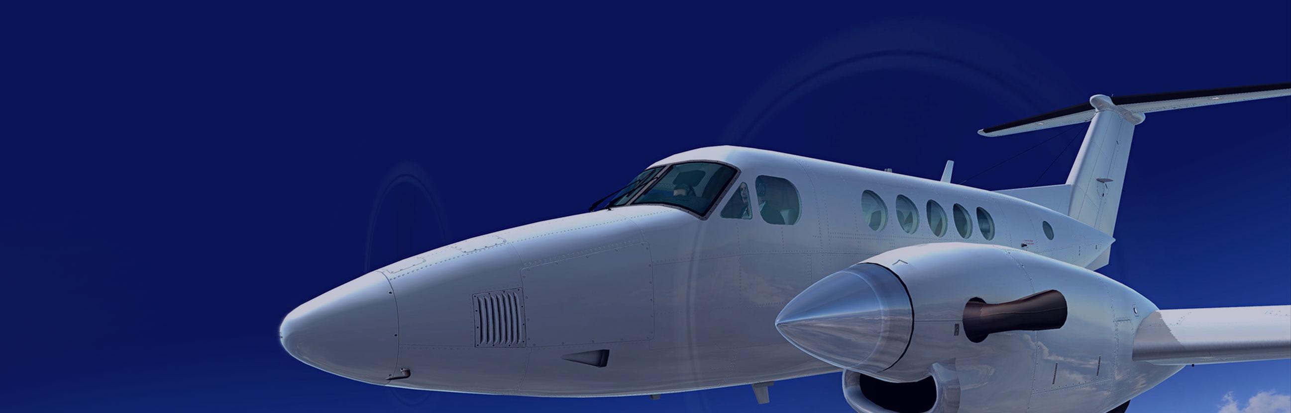 King Air slide